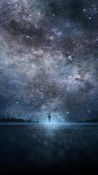 astronomy galaxy space nebula dust dark insubstantial orion moon telescope