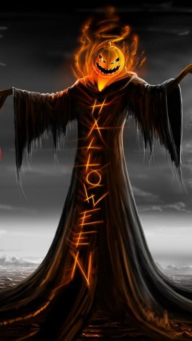 halloween magic fantasy art dark flame sunset portrait abstract woman reflection sky wave