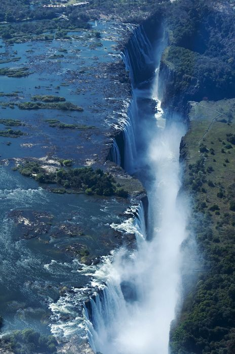 waterfall africa
