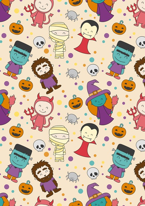 halloween illustration sketch vector wallpaper fun design art background