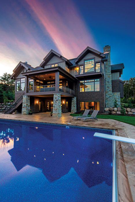 luxury pool resort hotel villa house building travel vacation