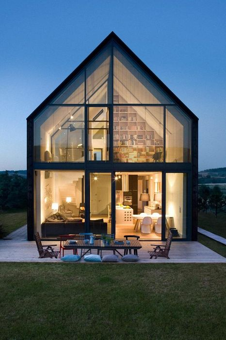 modern luxury design house small