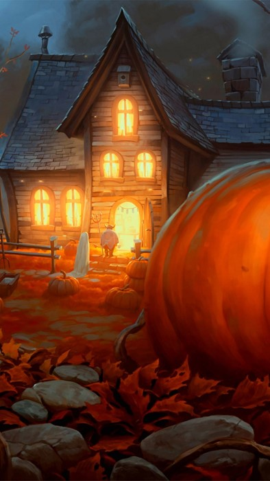 halloween pumpkin lantern fall light travel architecture eerie daylight outdoors religion