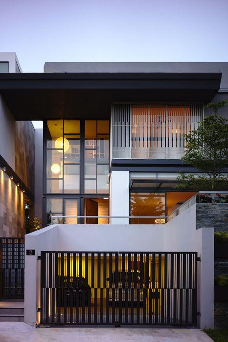 modern residential facades