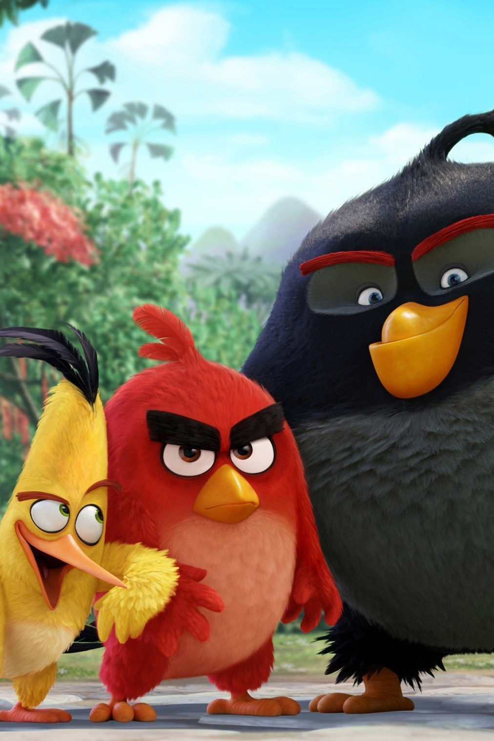 angry birds movie wallpaper