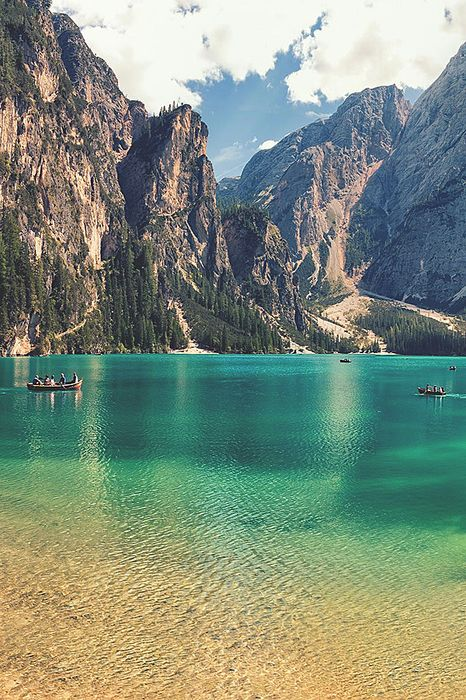 lake prags italy