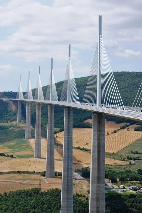 millau bridge sky pier architecture city river landscape water structure travel