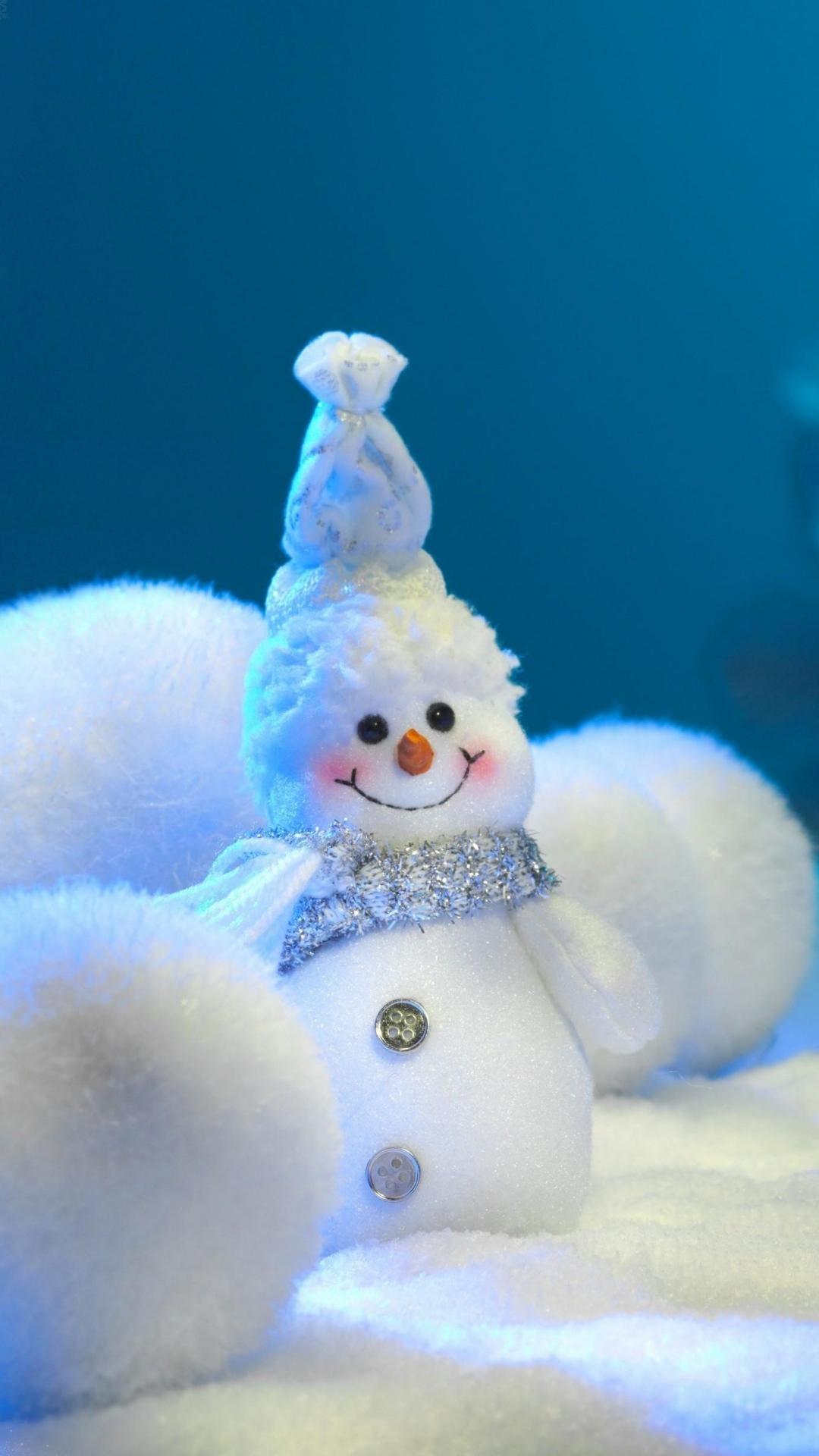 snowman balls snow snowflakes newyear christmas 1280x1920
