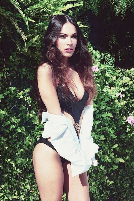 megan fox gq fashion model swimsuit