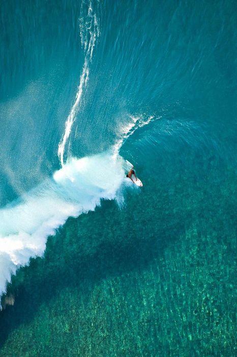 surfing wave ocean