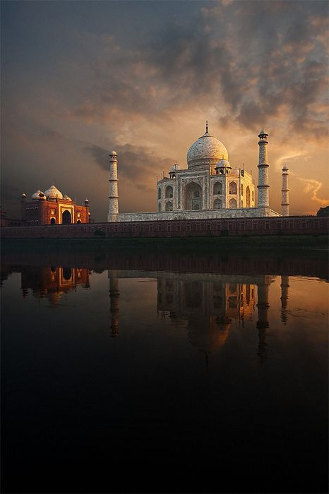 taj mahal india photography