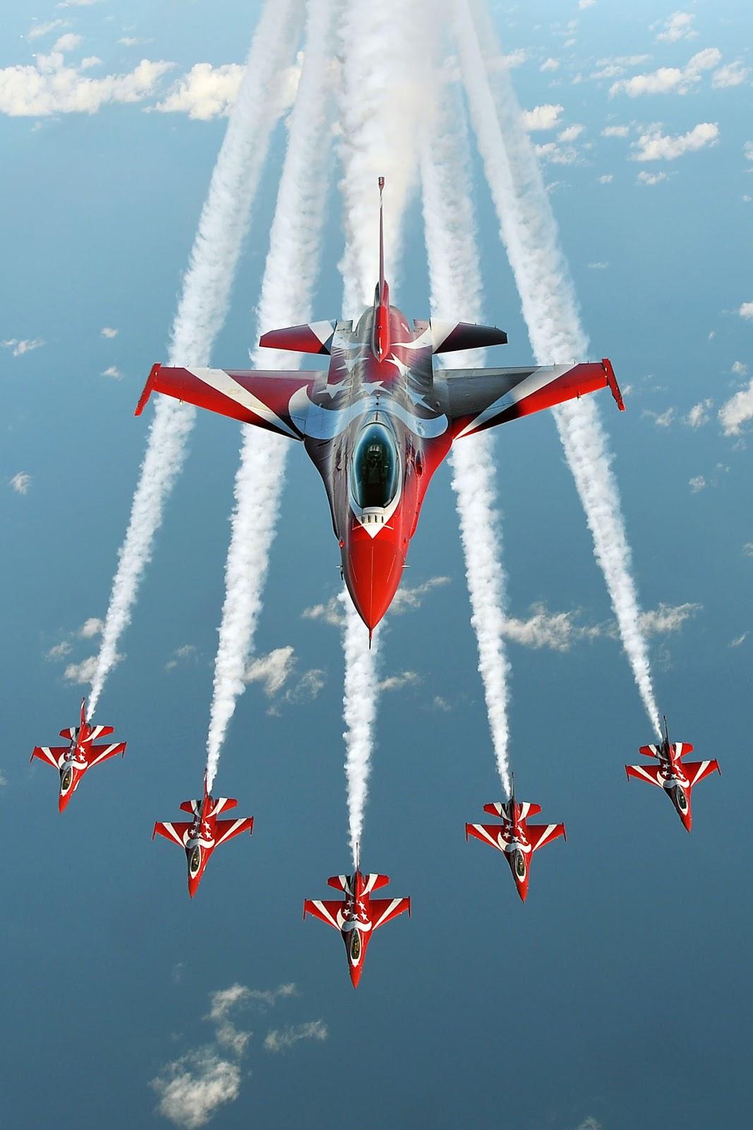 red flighter sky figure
