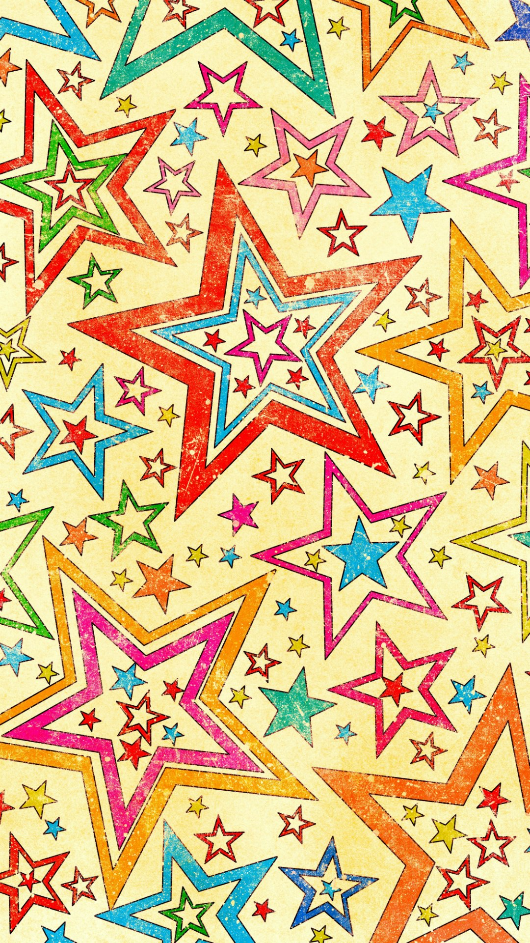 stars colorful background 1080x1920