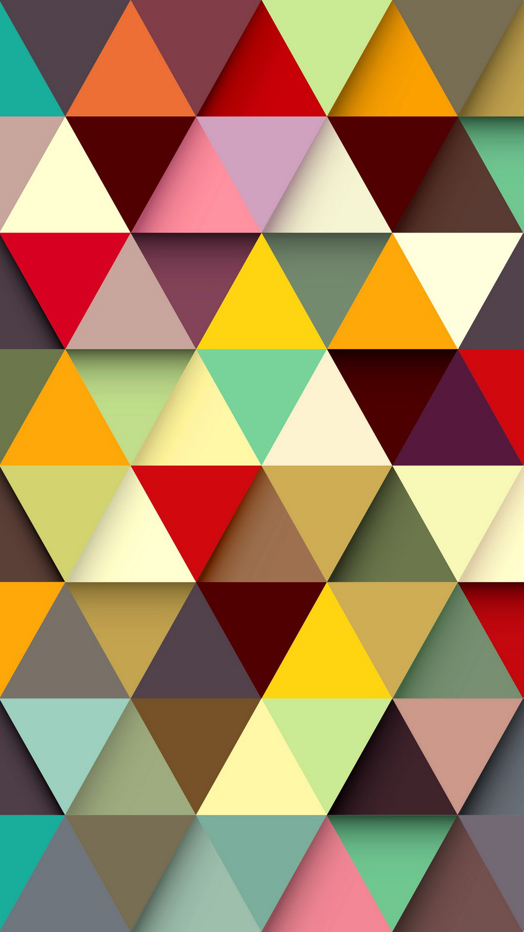 triangle pattern vector background 1080x1920
