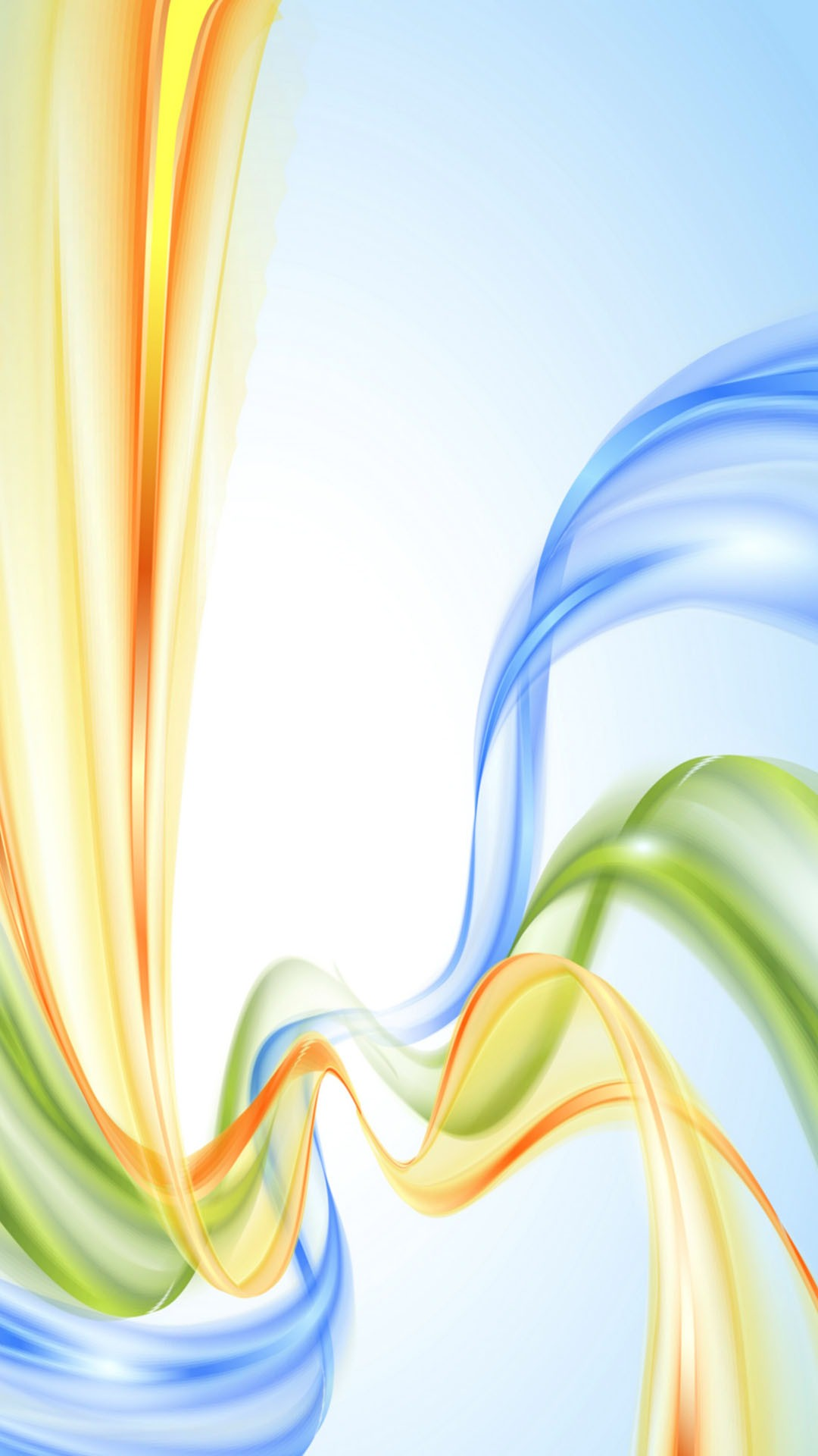 abstract background green blue orange 1080x1920