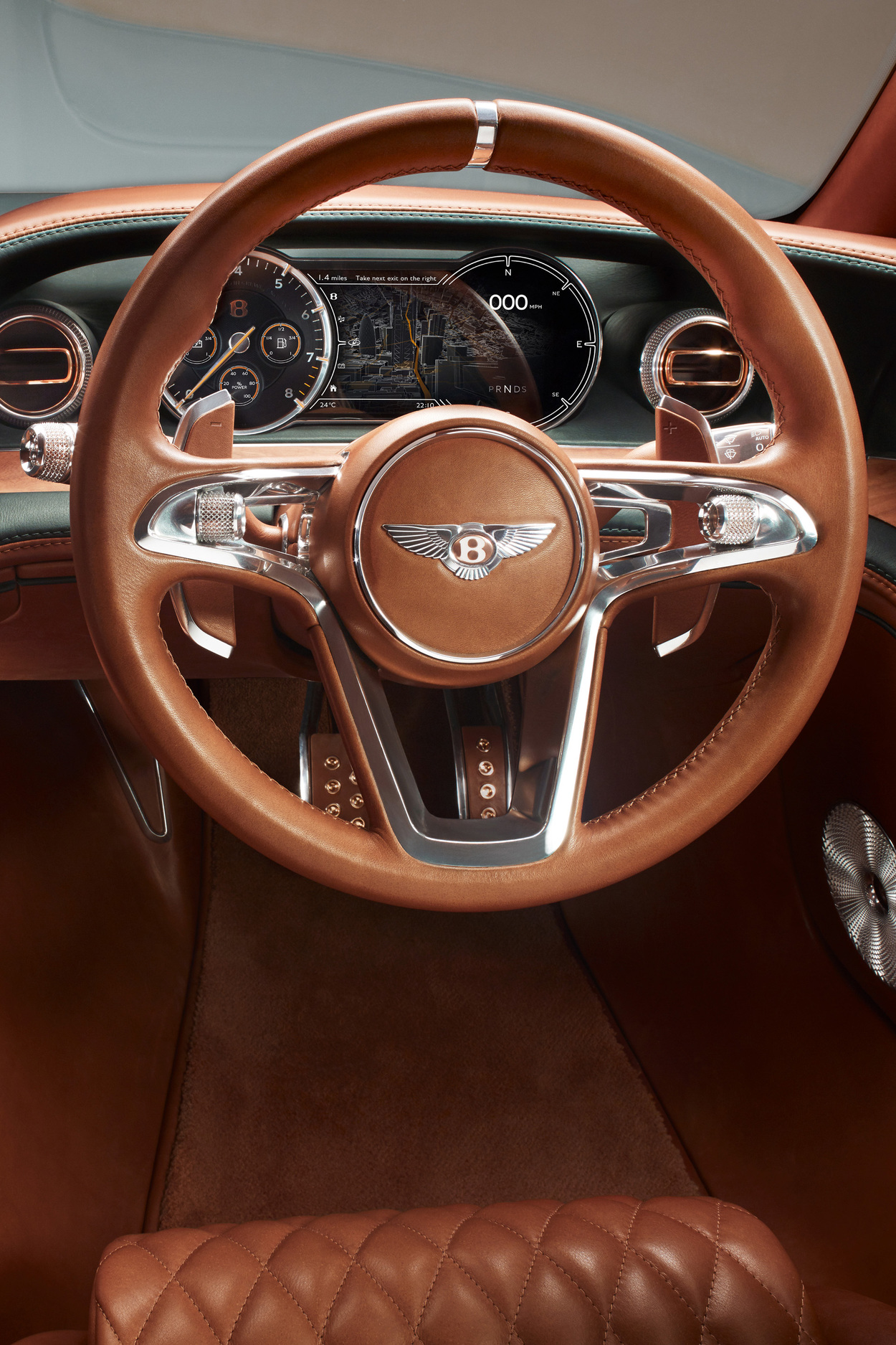 bentley exp10 interior