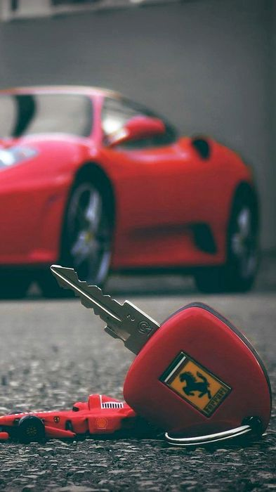 ferrari car racer motor vehicle automobile keys
