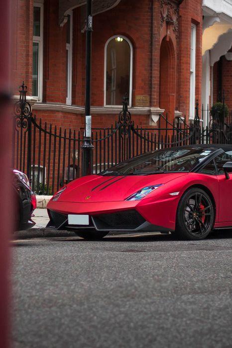 red lamborghini gallardo car sportscar speed drive transport