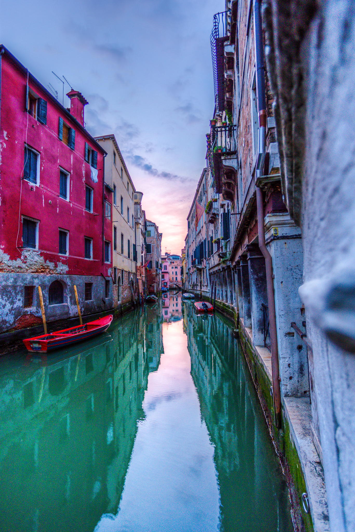 venice gondola boat vessel craft canal architecture city tourism travel water
