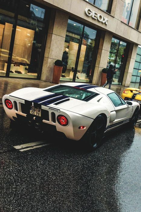 ford gt sportscar racer auto speed drive
