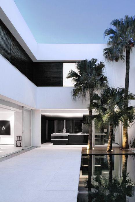 minimalist modern house
