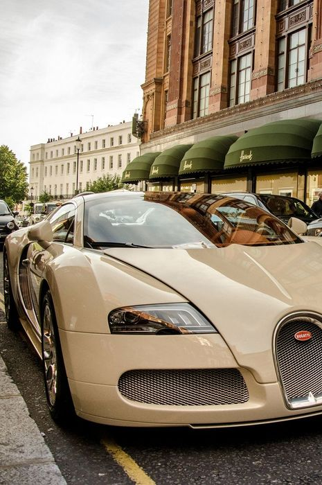 bugatti veyron beige