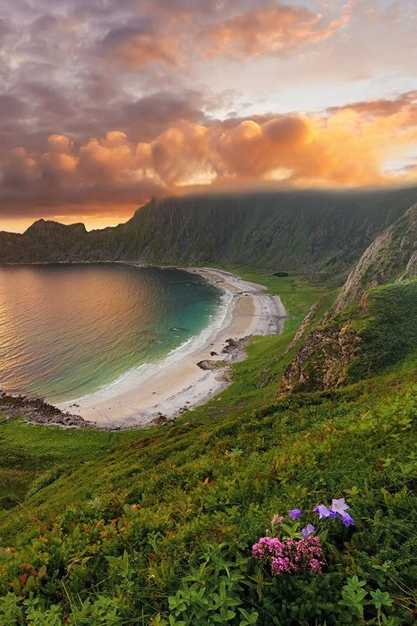 hoyvika beach norway