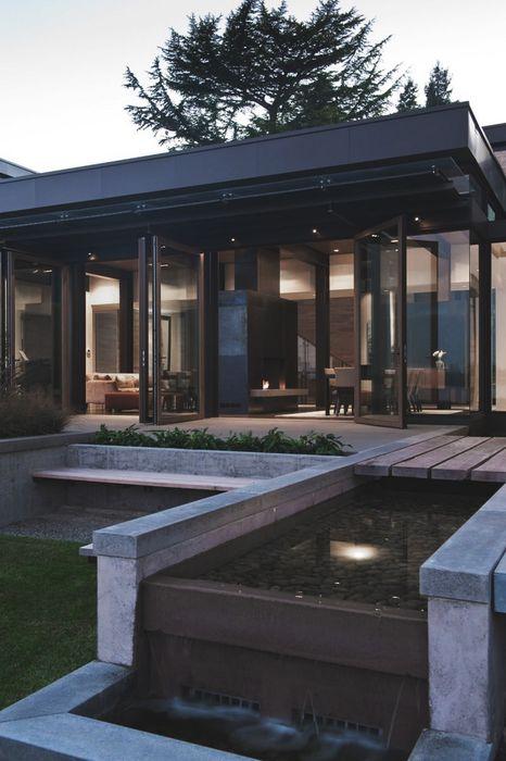 luxury house outdoors