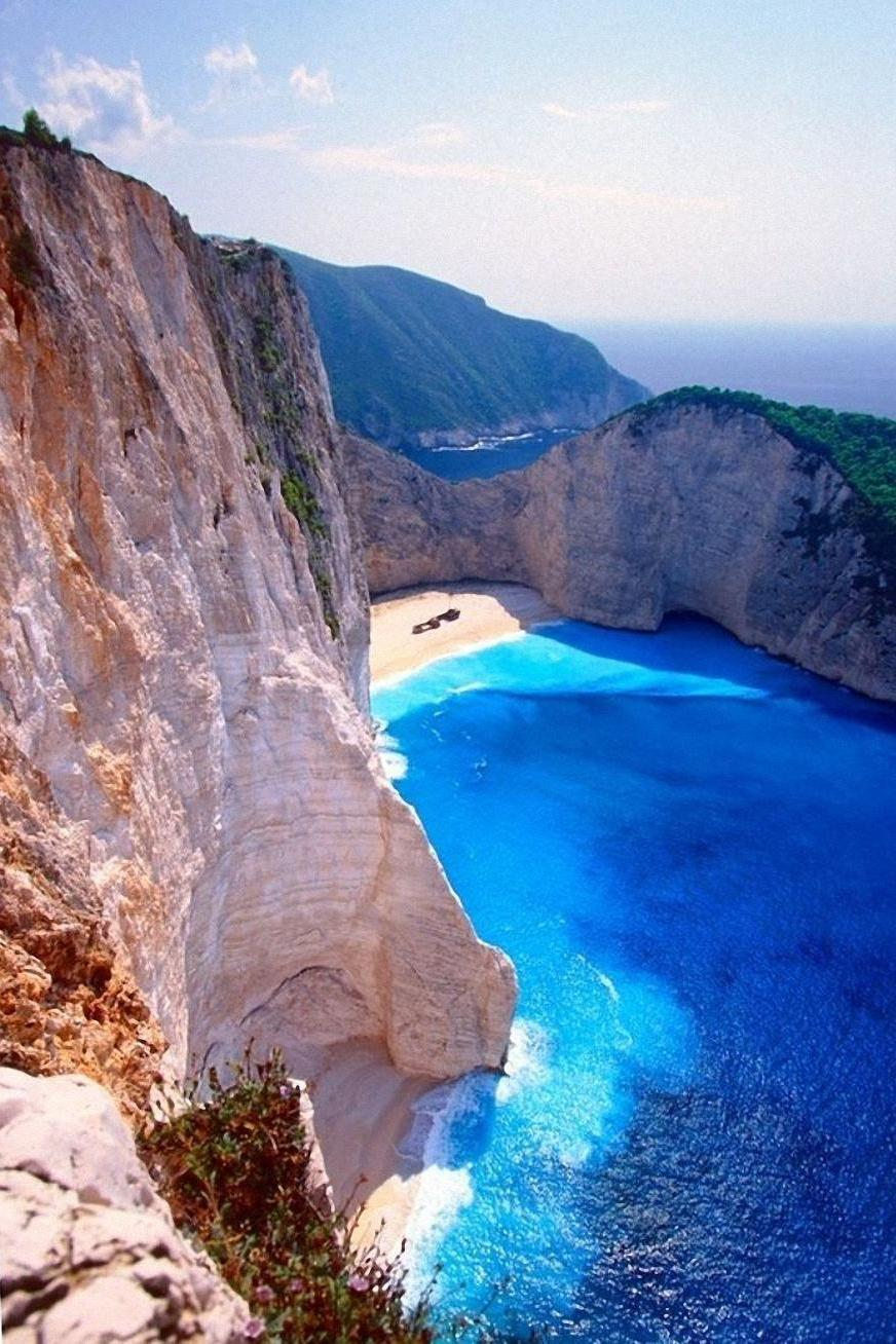 zakynthos island greece blue water