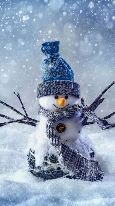 christmas snowman newyear iphone 6 wallpaper 1080x1920
