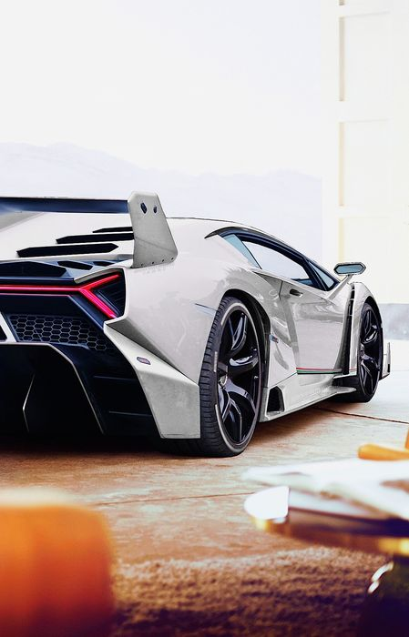 lamborghini veneno car motorvehicle sportscar vehicle speed retina