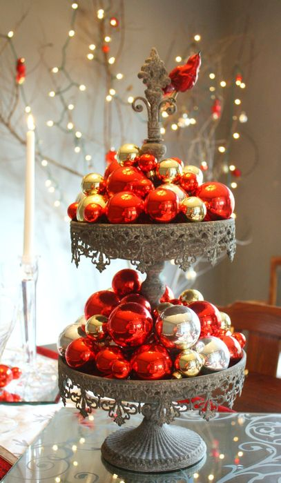 christmas decoration table deas