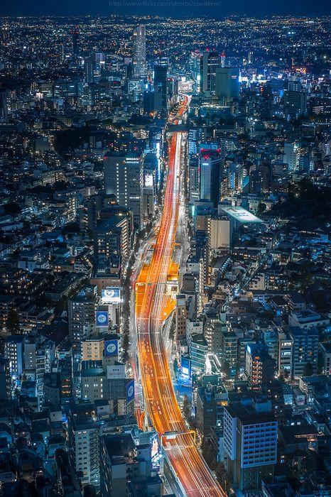 tokyo city night lights 750x1334