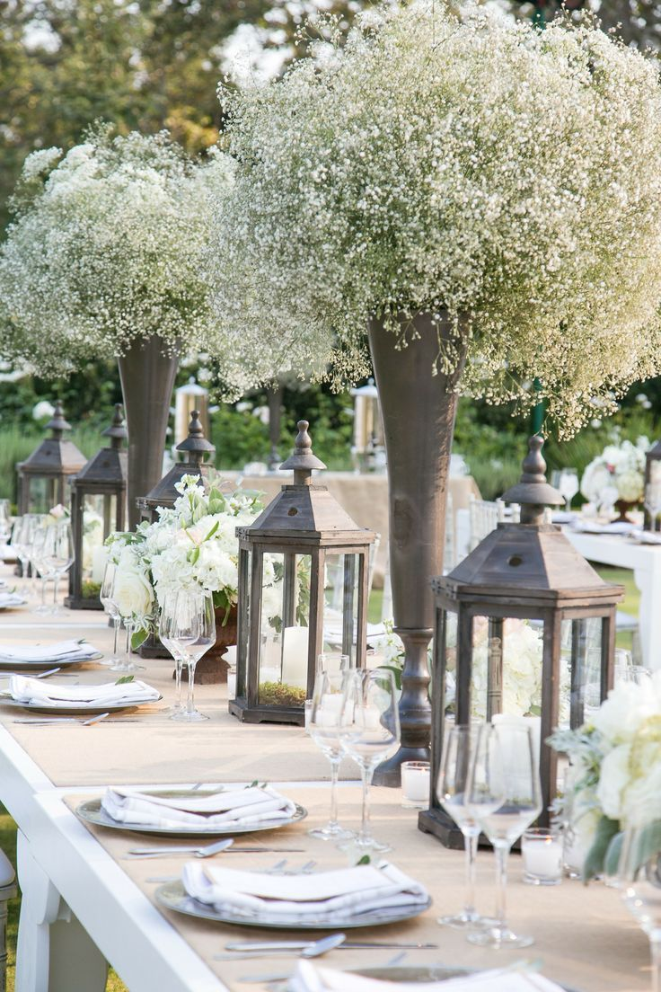 table interior flower light design
