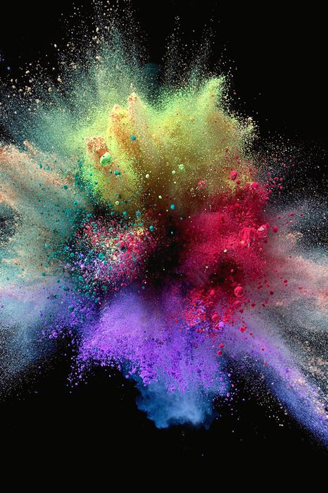 colorful wallpaper dust