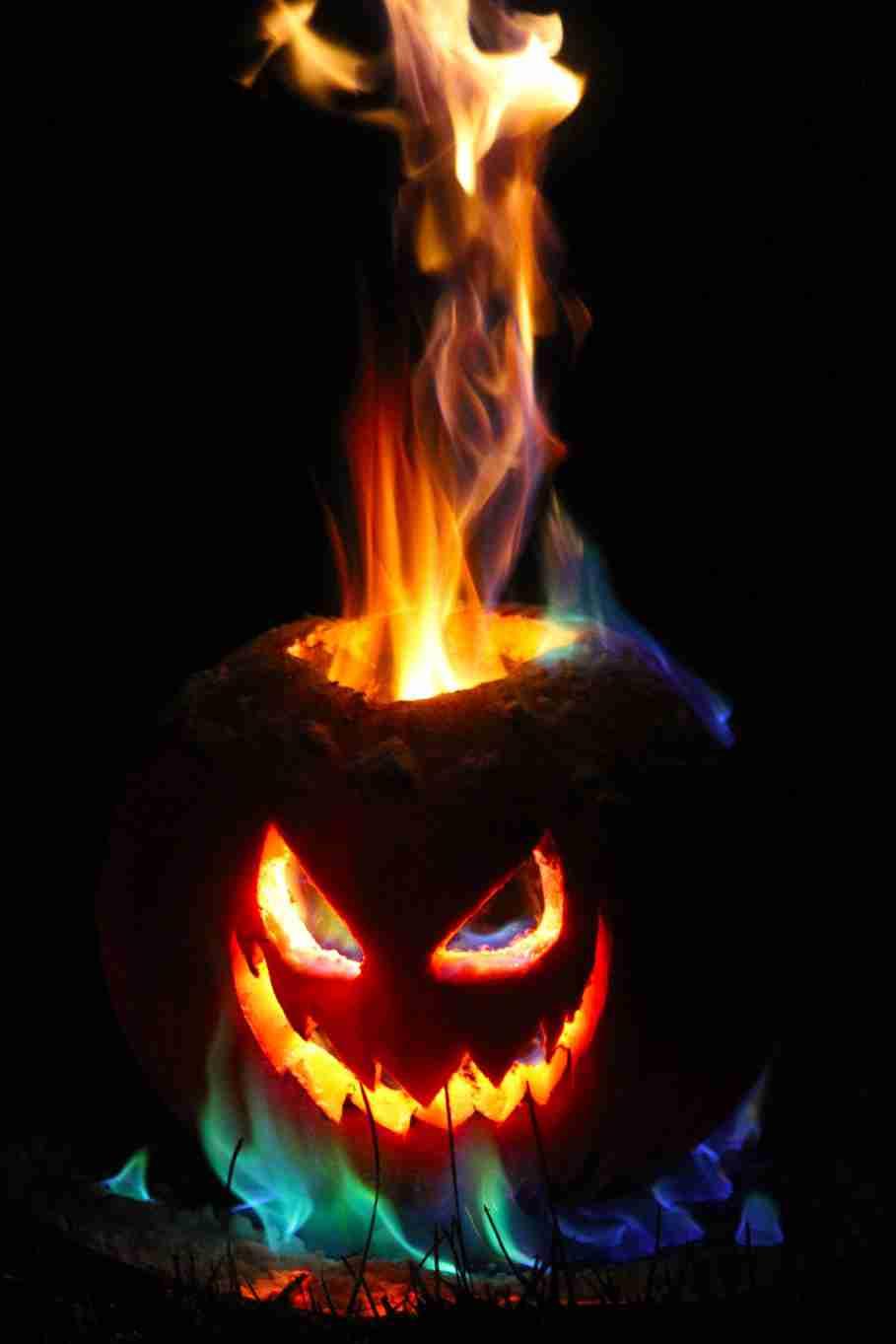 halloween flame flammable bonfire tongue heat burn blaze danger campfire