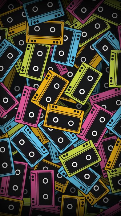 cassette background 1080x1920
