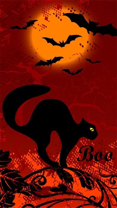 halloween design illustration art abstract wallpaper silhouette dark vector