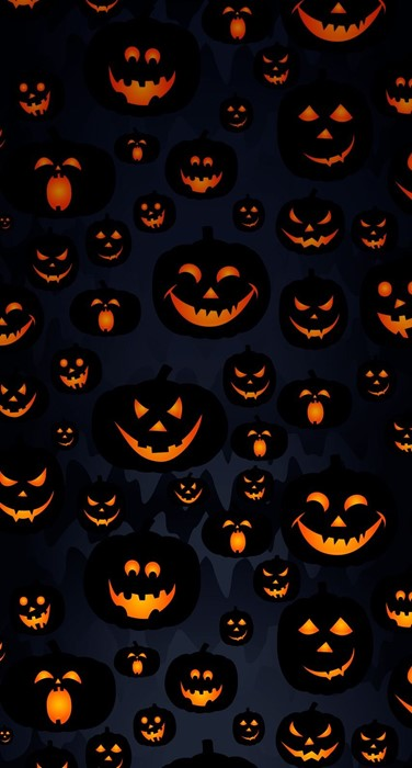 halloween wallpaper pattern design illustration pumpkin art vector graphics