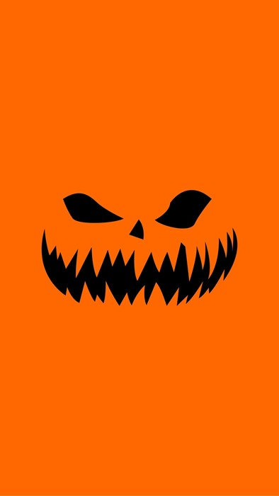 halloween illustration design scary fright horror symbol