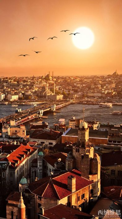 istanbul city sun river