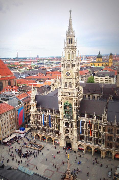 marienplatz munich germany church