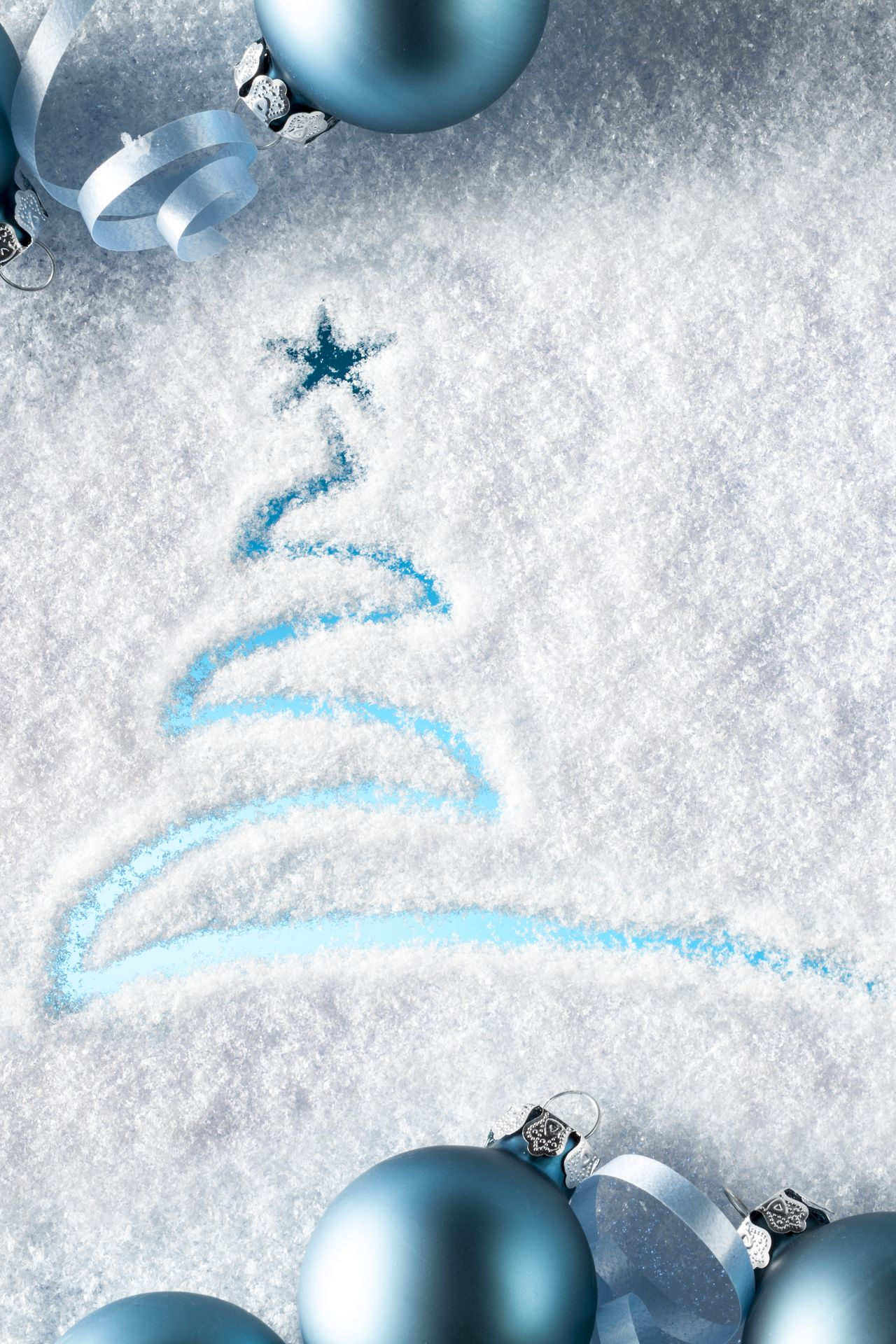 merry christmas decoration snow picture 1280x1920