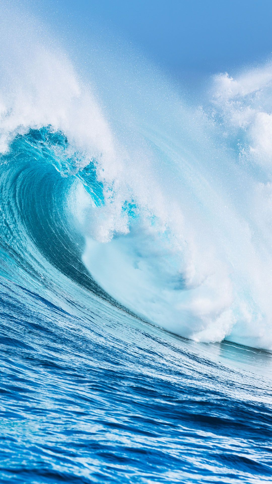 ocena wave blue water 1080x1920