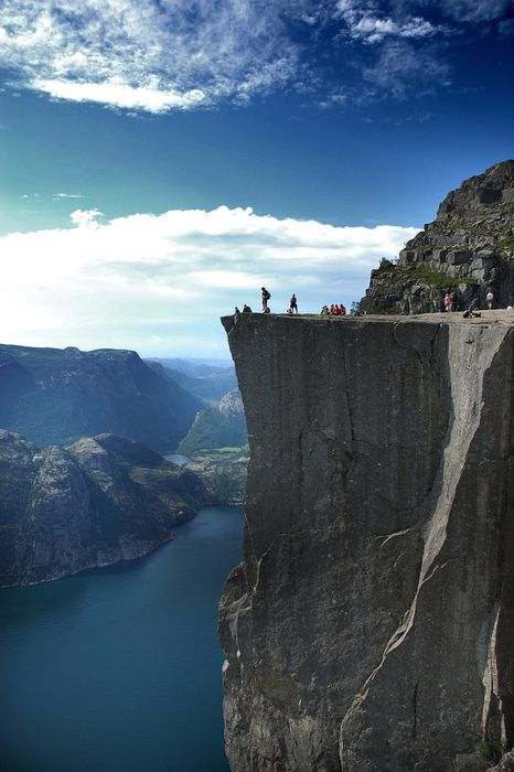 norway cliff