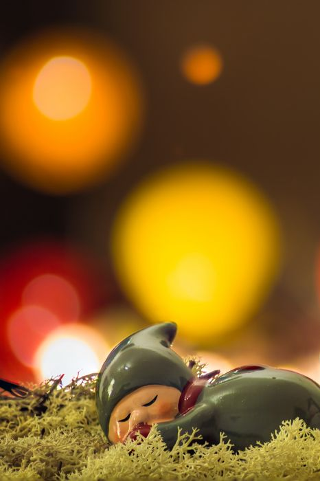 christmas toys macro sleep