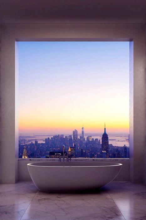 park avenue new york bath room