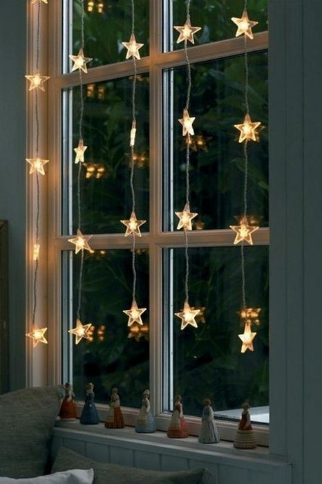 awesome christmas window decor star