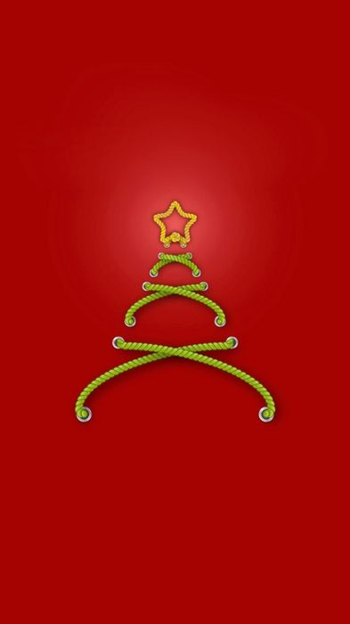 christmastree red background wallpaper 1080x1920