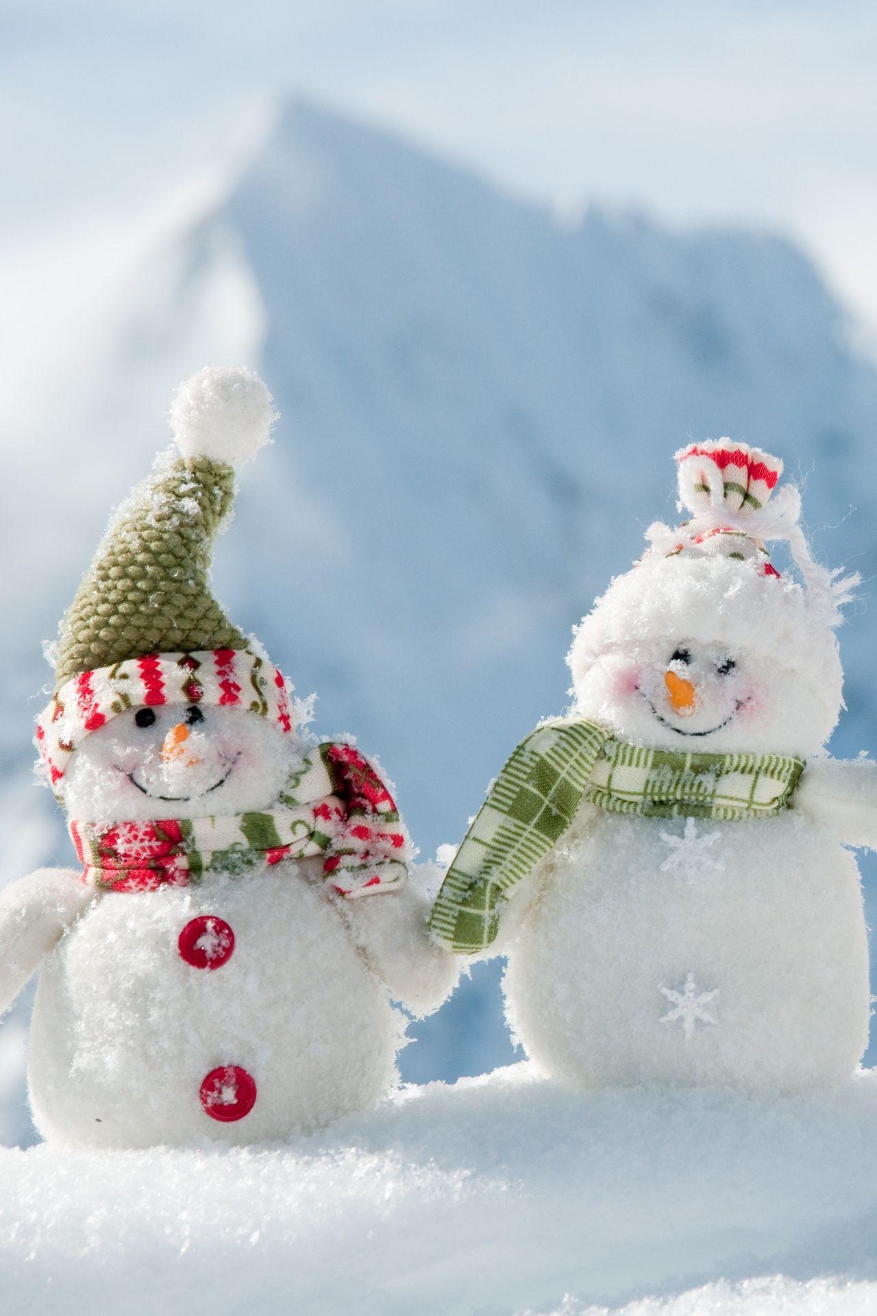 christmas snowman hat scarf smile 1280x1920